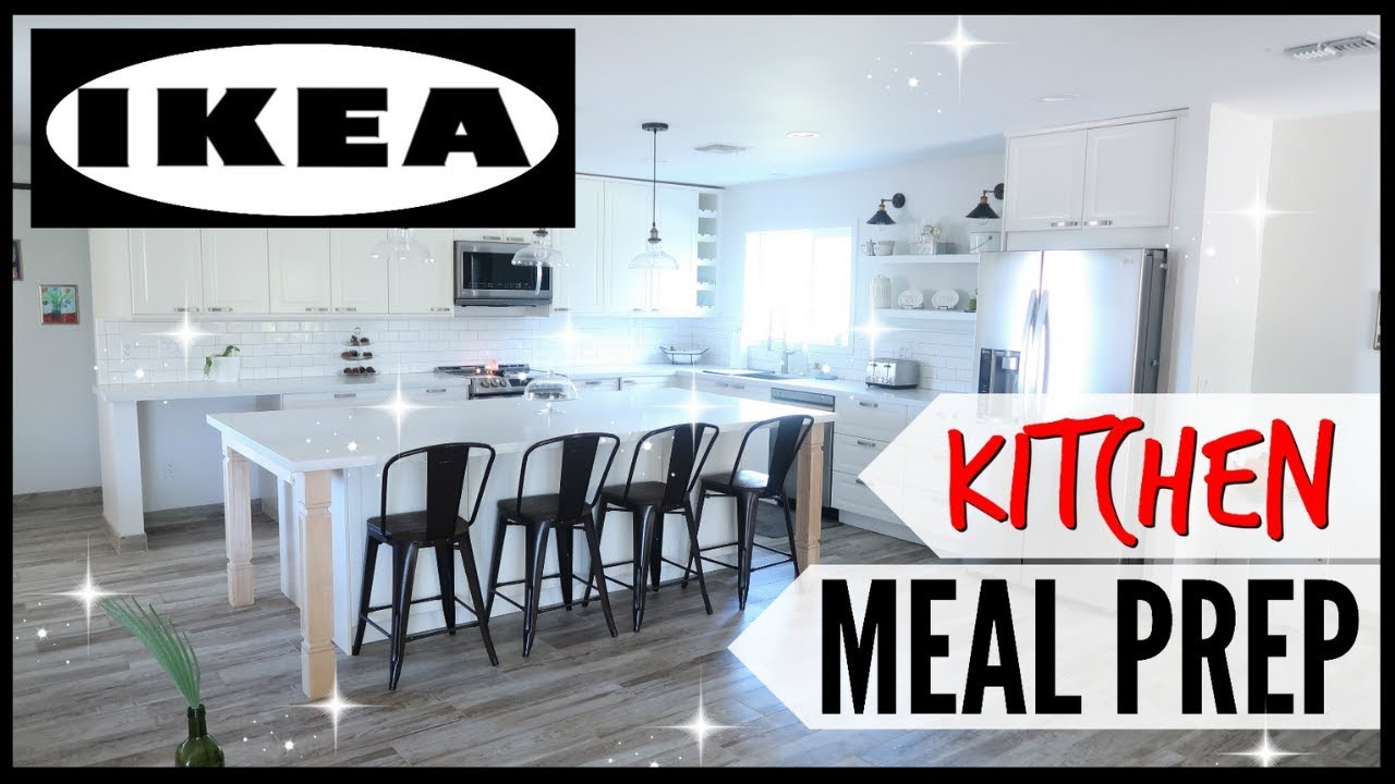 💥IKEA KITCHEN TOUR + ORGANIZATION ● HOW I DO MEAL PLANNING + MEAL PREPPING  IN MY IKEA KITCHEN