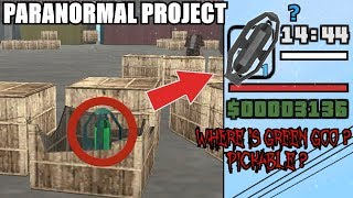 WHERE IS THE GREEN GOO? PICKABLE ITEM? GTA San Andreas Myths - PARANORMAL PROJECT 90