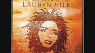 The Miseducation Of Lauryn Hill- Intro