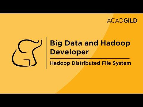 HDFS Tutorial for Beginners | Hadoop Distribution File System | Hadoop DFS Training