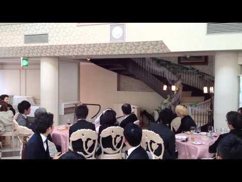 3/20 松沢家結婚披露宴 【くじら12号】