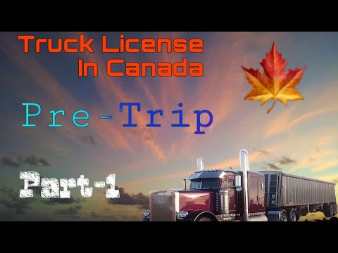 Perfect one training | class 1 | Pre Trip | Part 1 | Winnipeg | Canada
