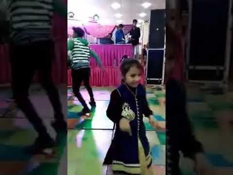 Dancer little girl