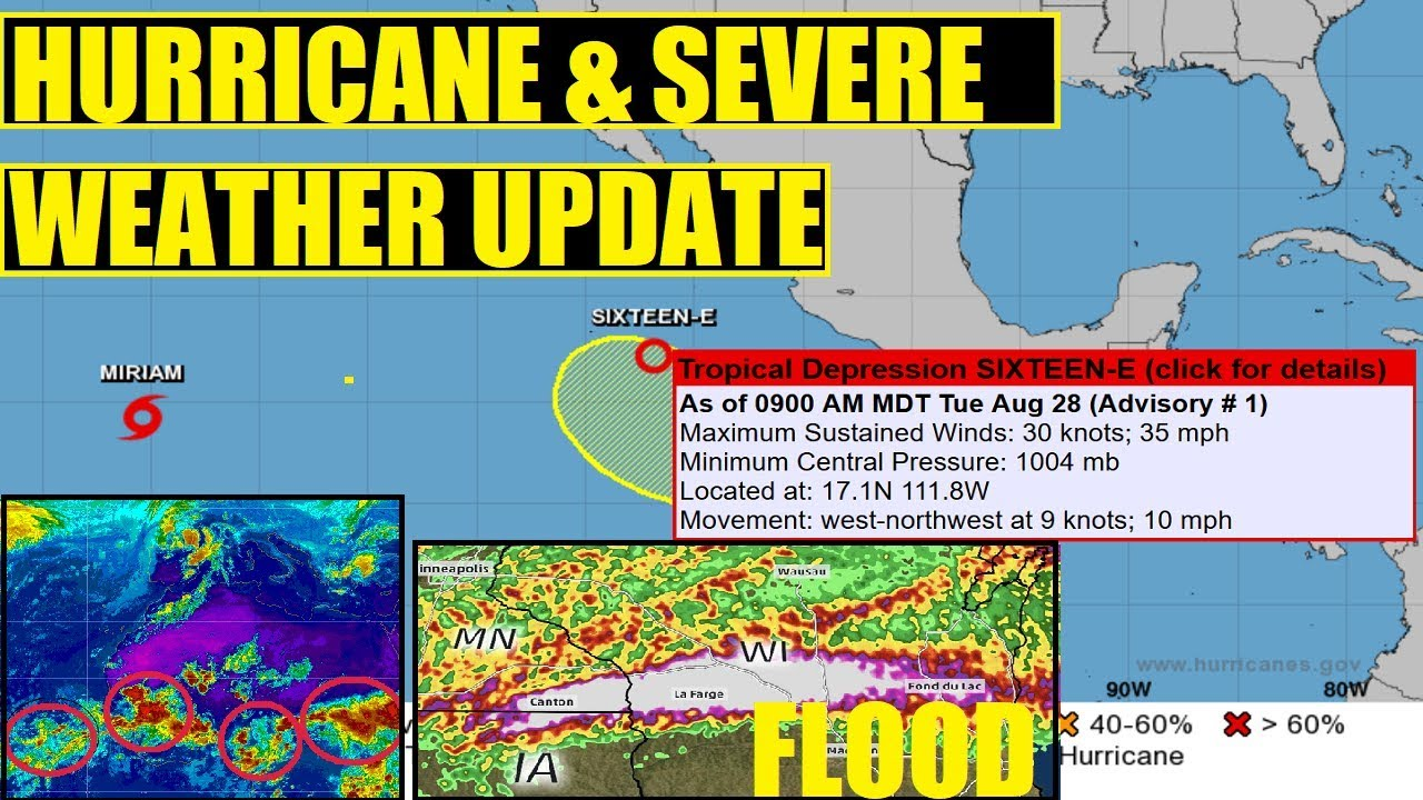 HURRICANE SEVERE WEATHER UPDATE Major Midwest Flooding 8 28