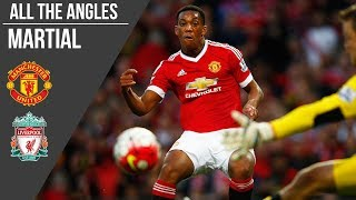 Martial v Liverpool Goal (2015) | All the Angles | Manchester United