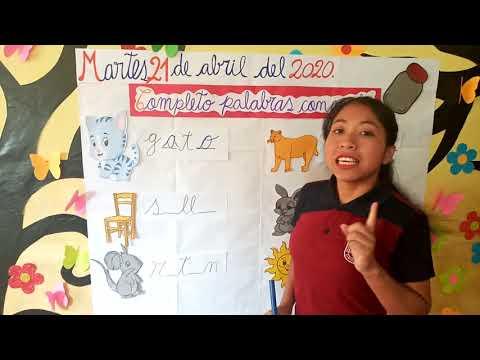 ¿Qué Vocal Falta? Completa las palabras con Juana la Iguana from YouTube · Duration:  1 minutes 56 seconds
