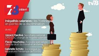 7/8 Débat : les inégalités salariales plus fortes dans les Yvelines