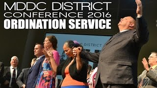 2016 06 23 - Ordination Service MDDC Disctrict Conference