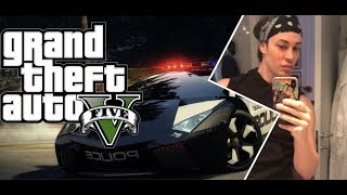 GTA 5 CRAZY POLICE FIGHT WITH UNLIMITED HEALTH N ALL WEAPONS bY Lord Conrad