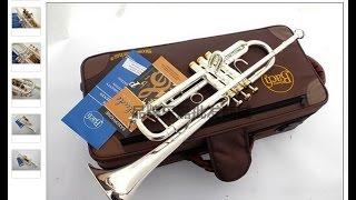 Обзор китайской трубы  Bach Stradivarius LT180S-43. Cinese fake trumpet Bach Stradivarius LT180S-43