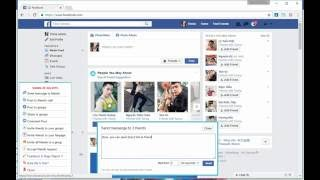 Facebook Marketing For Chrome -  How to send message to friends [Free]