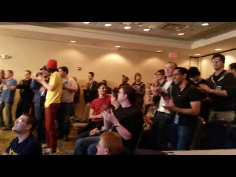 AGDQ 2014 Audience Applause After Super Metroid Race