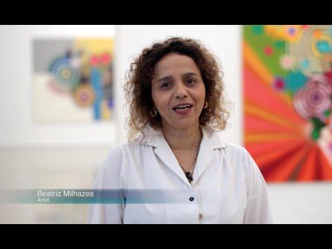"""Watch Beatriz Milhazes discuss her exhibition """"Jardim Botânico"""""""