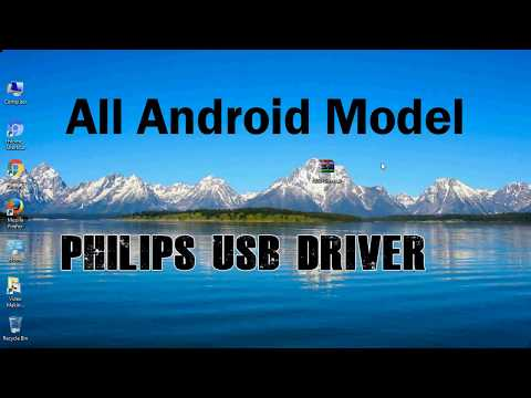 How to Install Philips USB Driver for Windows | ADB and FastBoot