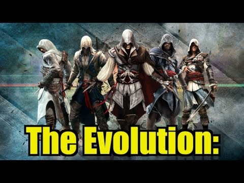 The Evolution of Graphics: Assassin's Creed Edition - YouTube