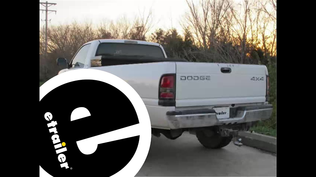 1995 dodge ram 1500 trailer wiring diagram toyota 4runner installation of a harness adapter on