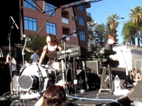 MATT AND KIM @ PASADENA MUSIC FESTIVAL- BETTER OFF ALONE