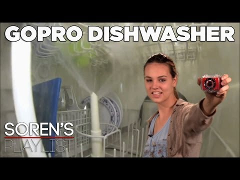 Full Wash Cycle in a Dishwasher & More Crazy GoPro Ideas