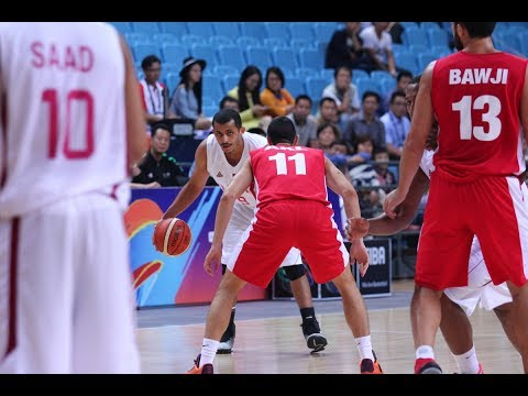 Mizo Amin - FIBA - Asian Championship Qatar vs Lebanon 5th place Game Offensive Highlights (2015)