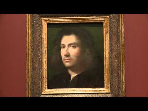 Giorgione: Portrait of a Man- The San Diego Museum of Art