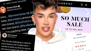 James Charles SHADES Jeffree Star because of THIS...