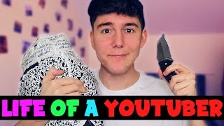 Honest Day in the Life of a YouTuber