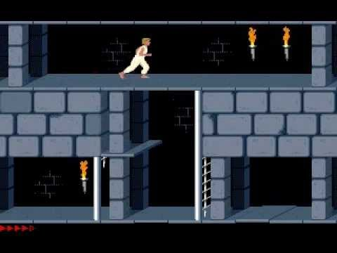 Prince of Persia 1 - Original (Jordan Mechner,1990) - Level 06,07