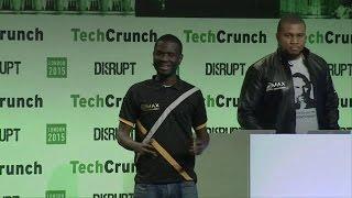 MAX Delivers Satisfaction   Startup Battlefield Finals