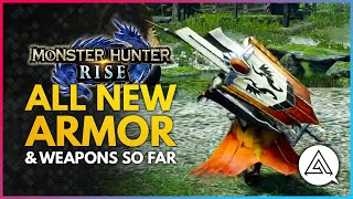 Monster Hunter Rise | All New Armor & Weapons So Far