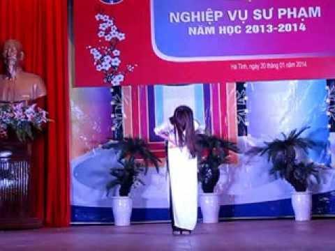 """Thi kể chuyện """"Tích Chu"""" - Phan Thị Như - 3MN"""