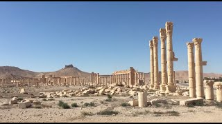 Satellite Images Show ISIS Destruction in Ancient City of Palmyra