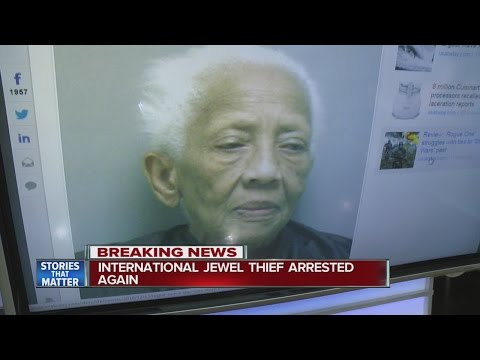 86-year-old jewel thief arrested again