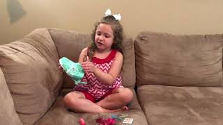 Bella Grace Opens American Girl Nfinity Cheer Set