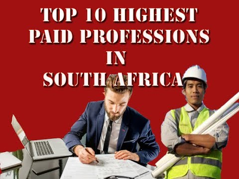 Top 10 Highest Paid Professions in South Africa