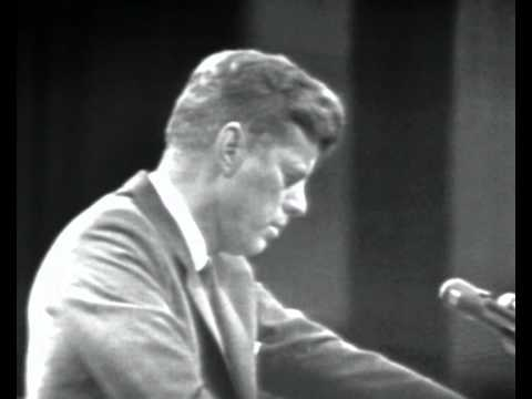John F. Kennedy press conference on the Bay of Pigs invasion of Cuba