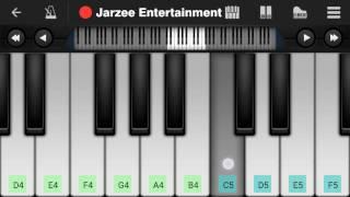 Sanam re (Arijit Singh) - Easy Mobile Perfect Piano Tutorial