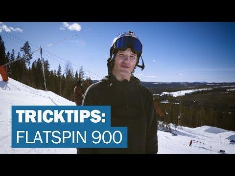 TRICKTIPS: Flatspin 900 med Oscar Wester