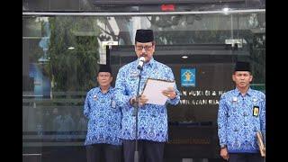 Upacara Hari Pahlawan ke-74 di Kanwil Kemenkumham Riau