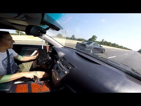 """Камри 3.5     Vs    BMW E34 (540) !!!    """"Баварский  Волк"""" !!!"""