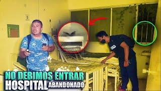 ¡No debimos entrar a este hospital abandonado! en Cancún
