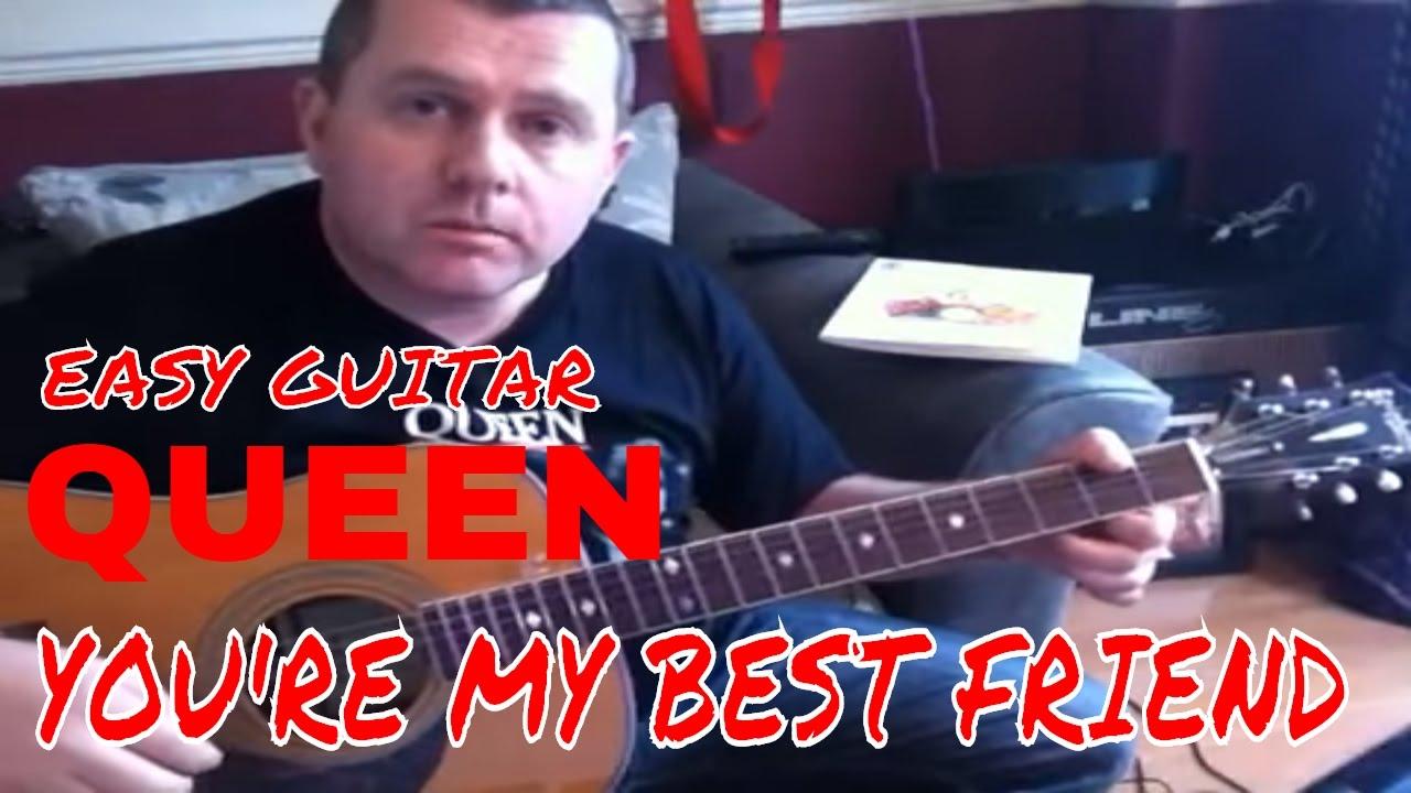 Youre my best friend queen acoustic guitar tutorial youtube youre my best friend queen acoustic guitar tutorial hexwebz Choice Image