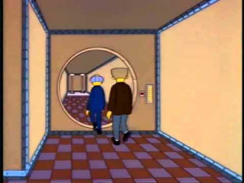 Springfield Nuclear Plant Security The Simpsons Youtube