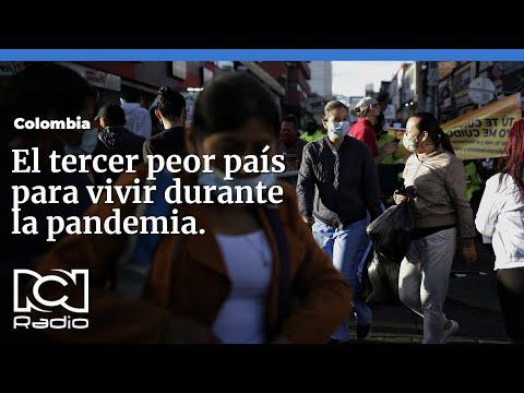 #Colombia, entre los peores países en el manejo de la pandemia