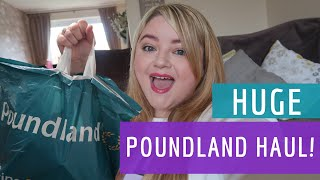 POUNDLAND HAUL, OCTOBER 2017 || My Happy Ever After