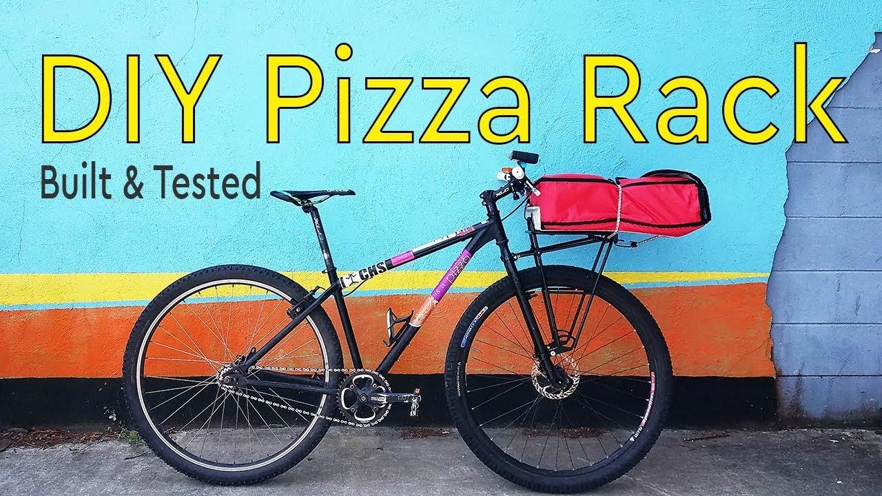 Diy Pizza Rack For Bike Tested