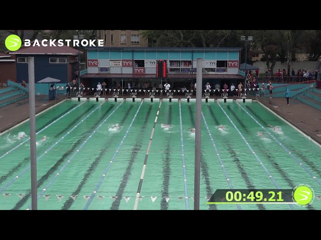 #201 Mixed 100 LC Meter Freestyle Heat 7 of 15