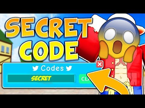 Roblox Blox Piece New Codes! 2019 July - YouTube