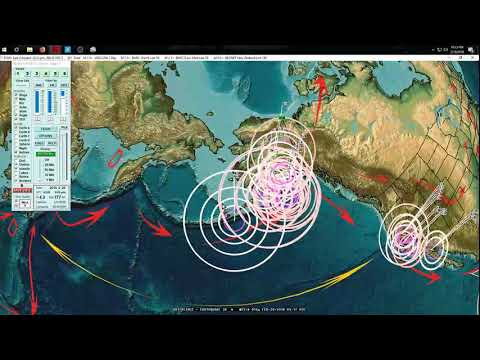 2/19/2018 -- West Coast California Volcanoes begin swarming -- Major volcanism internationally