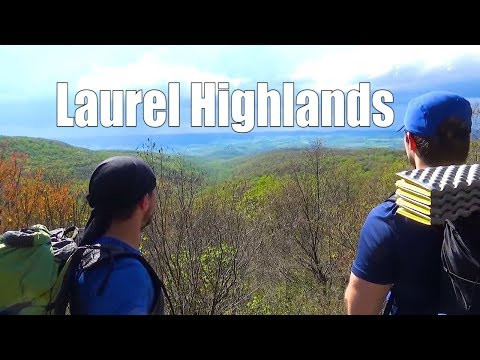 Laurel Highlands Group Thru Hike 4 days 70 miles