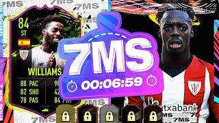WOW AMAZING RULEBREAKER SBC!! 84 INAKI WILLIAMS 7 MINUTE SQUAD BUILDER - FIFA 21 ULTIMATE TEAM